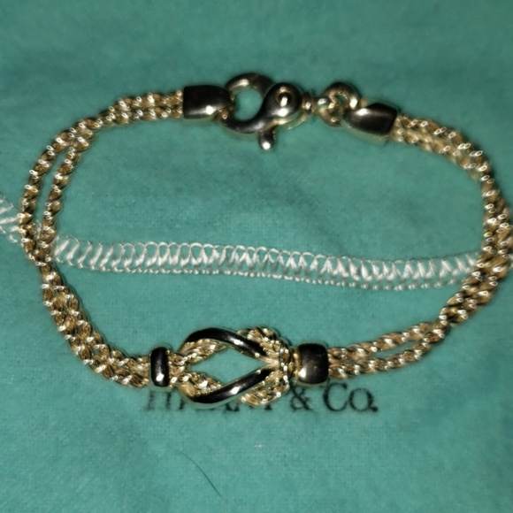 Tiffany & Co. Jewelry - TIFFANY LOVE KNOTT BRACELET!..
